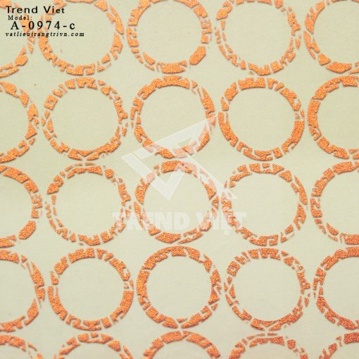 Tấm Eco Resin A-0974-c GOLD CIRCLE (FABRIC)