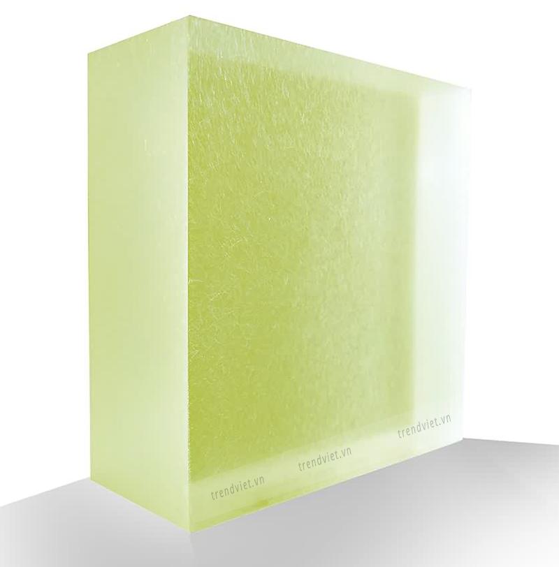Tấm Resin xuyên sáng GM01 green moss
