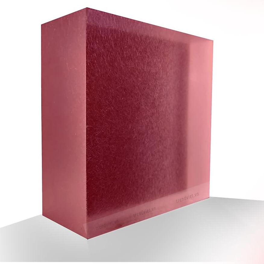 Tấm Resin xuyên sáng RP01 red purple