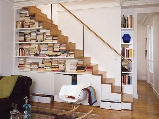 Vách ngăn cầu thang bằng gỗ 2