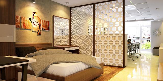 Trang trí nội thất phòng ngủ 5