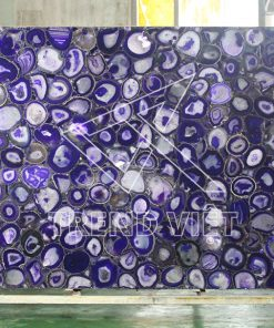 Đá Agate màu tím