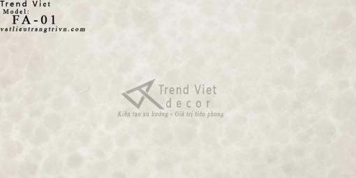 Đá xuyên sáng Alabaster FA-01 Trend Việt