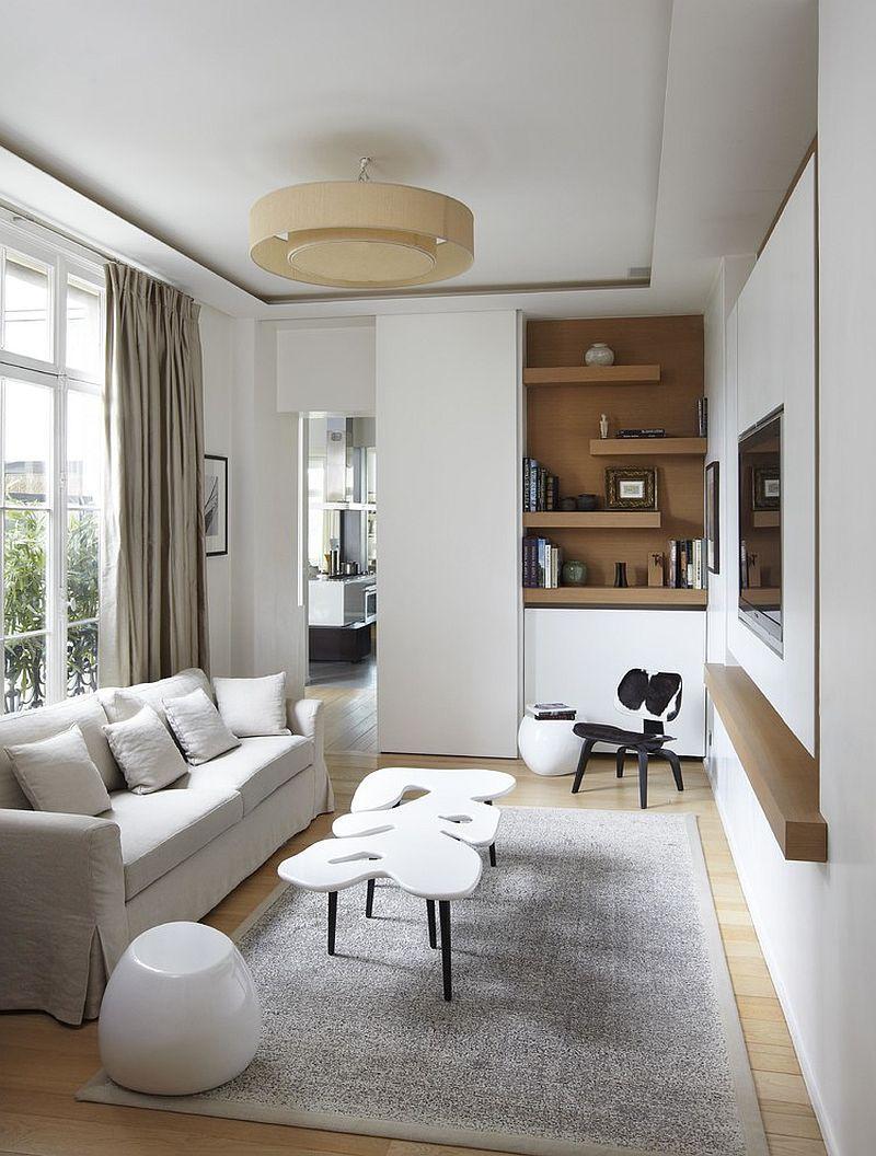 Thiết kế nội thất phòng khách nhà ống 5