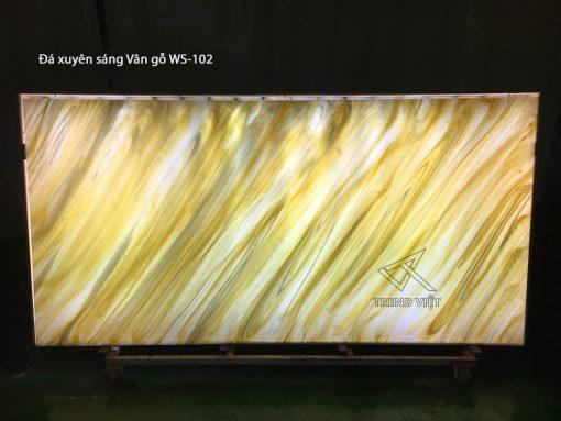 Đá xuyên sáng vân gỗ WS-102 map ảnh