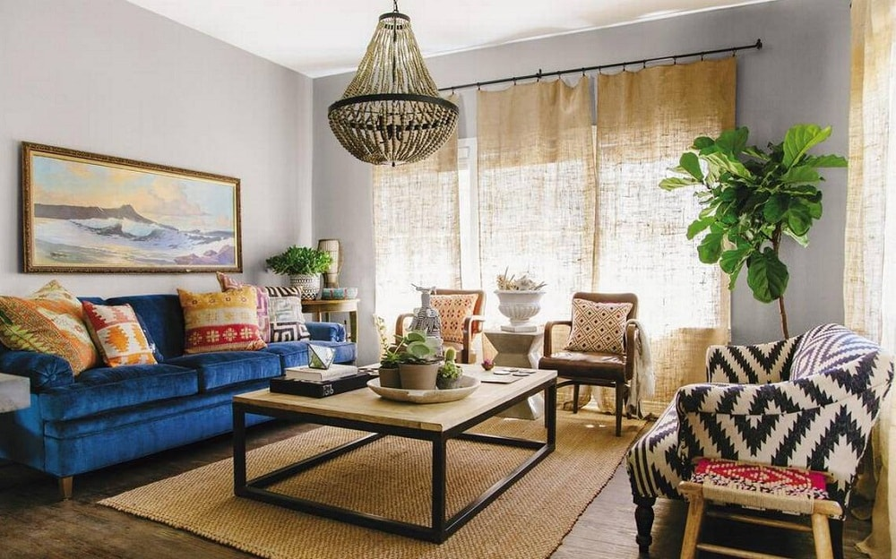 trang trí nội thất phòng khách nhỏ đẹp 4