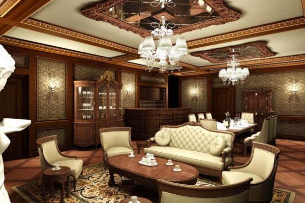nội thất nhà gỗ đẹp 1