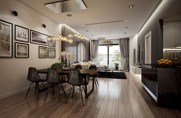 thiết kế nội thất chung cư TPHCM 5