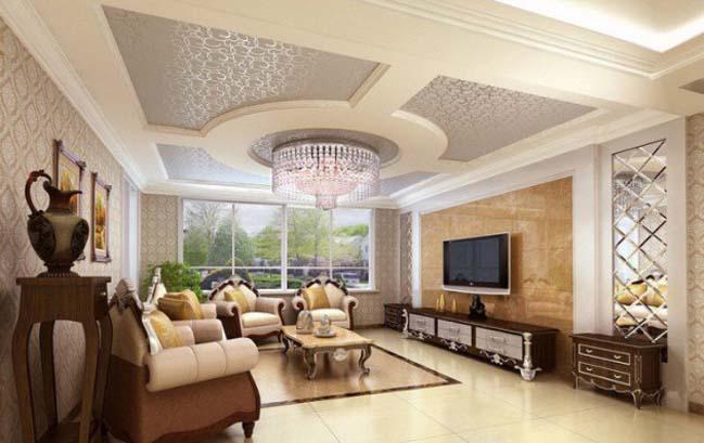 thiết kế nội thất phòng khách đẹp 2