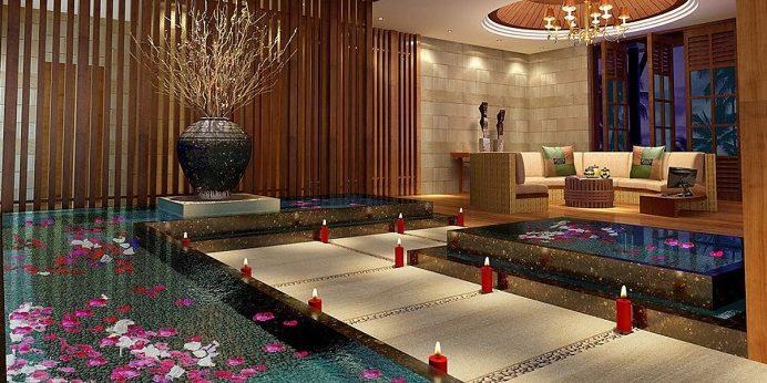 thiết kế nội thất spa 4
