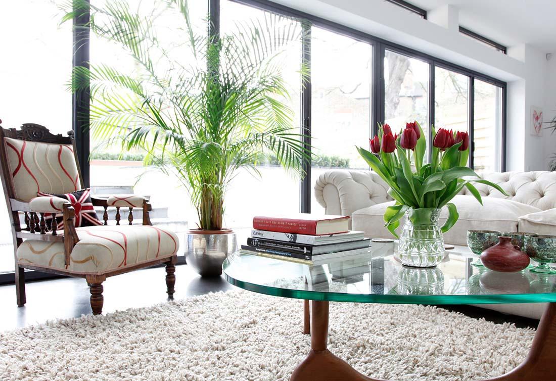 mẫu thiết kế nội thất phòng khách đẹp 6