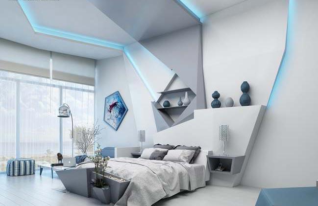 Nội thất phòng ngủ hiện đại 8