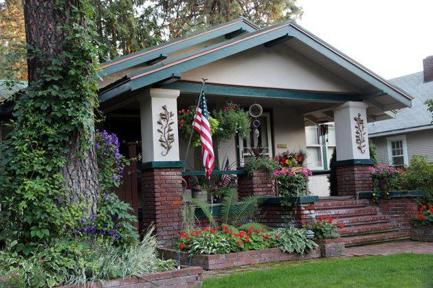 kiến trúc nhà ở kiểu Mỹ 1