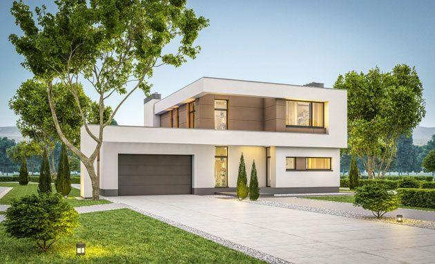 kiến trúc nhà ở kiểu Mỹ 5