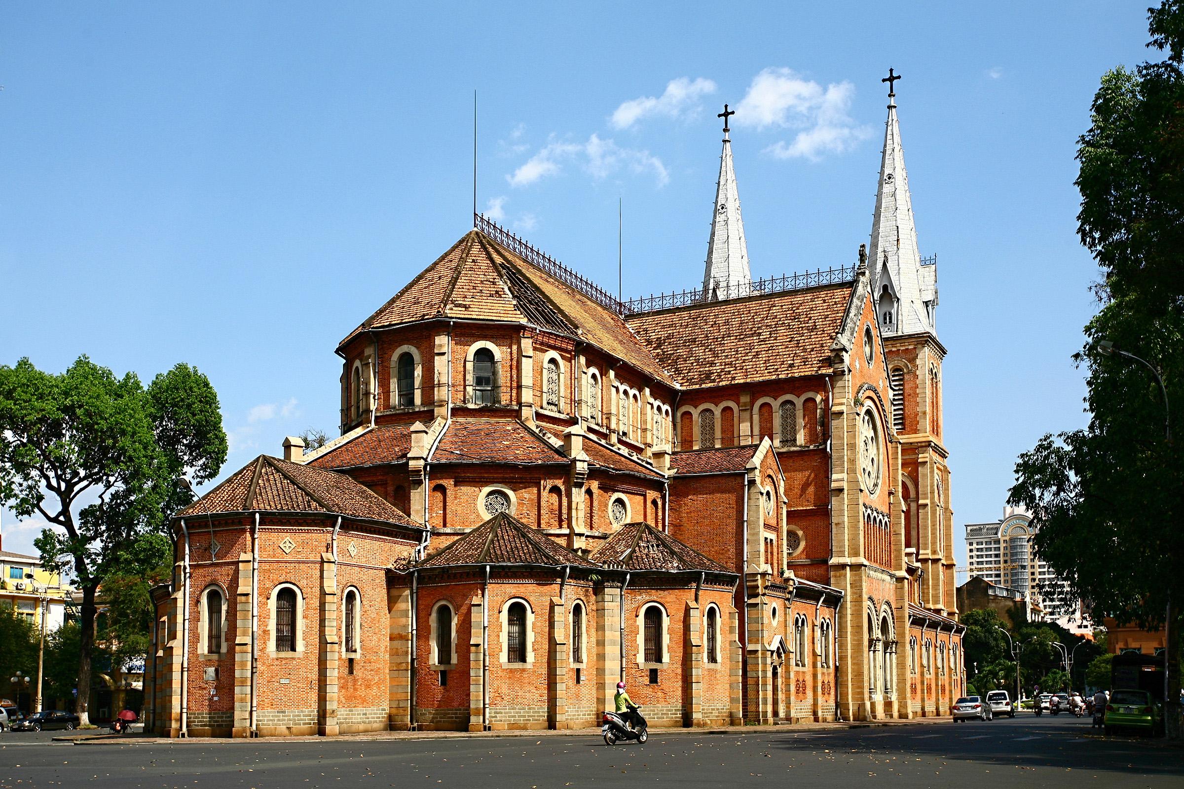 kiến trúc Pháp ở Sài Gòn 1