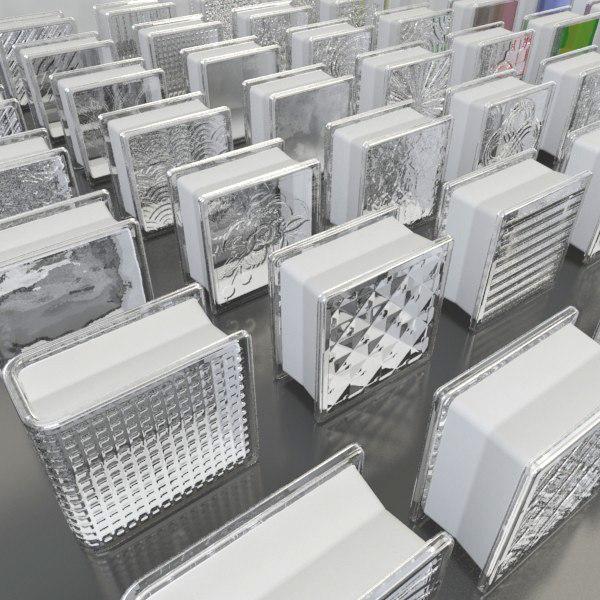 Gạch block kính 1