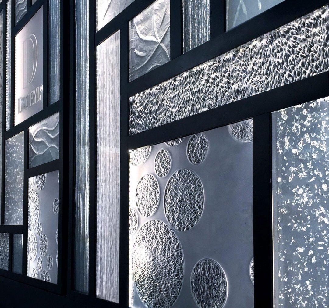 tấm xuyên sáng Acrylic- Crystal C0015 2