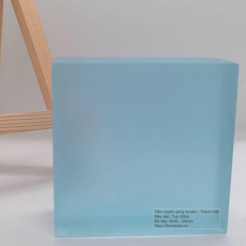 Tấm Acrylic xuyên sáng light blue