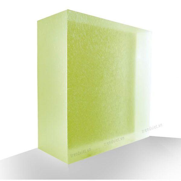 Tấm Resin xuyên sáng GN01 green nuggets