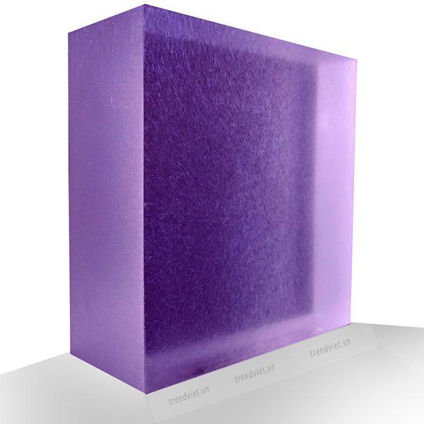 Tấm Resin xuyên sáng PB01 Purple blue
