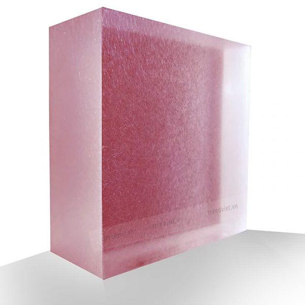 Tấm Resin xuyên sáng PP01 pink purple